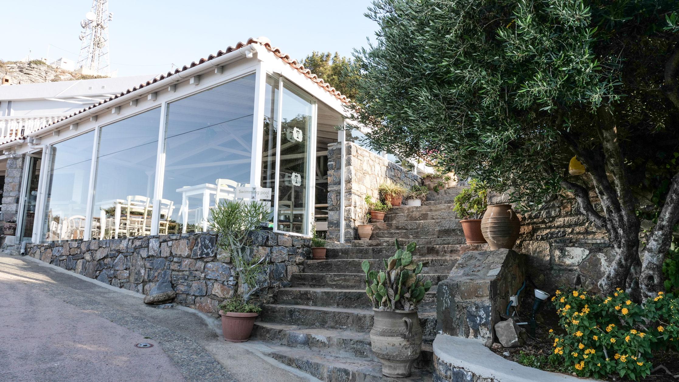 Adrakos Apartments Elounda - Entrance