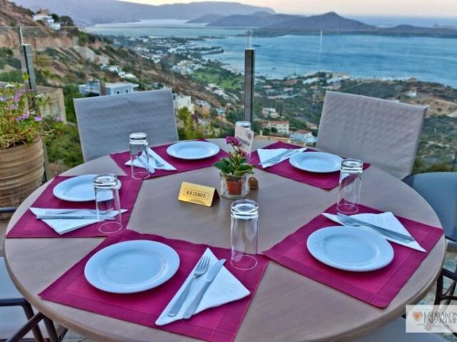 Elounda Terrassa Restaurant table